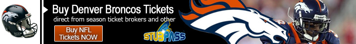 Denver Broncos Tickets